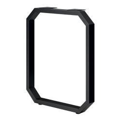 Опора для стола 8-гранная   Н=720*595, черный муар с фланцем