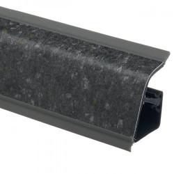 Плинтус столешницы Rehau 118 Бриллиант черный  L=4,2м (16061981001)