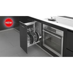 Карго боковое 450 хром для сковородок с доводчиком на напраляющих  BLUM           Starax (S-2880)