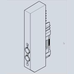 Алаптер Orga Srore 830,   Антрацит   (Комплект 2 шт)         Hettich (9230268)