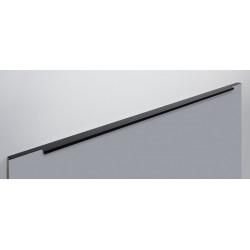 Ручка торцевая RAY,черный матовый   900 мм                                Boyard (RT109BL.1/000/900)
