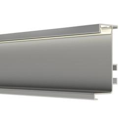 Профиль верхний LED  L- образ. 4,1 м алюминий                                     Италия / A (22446)