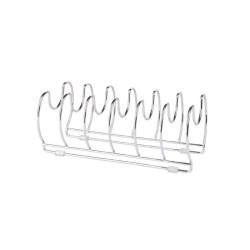 Держатель для сковородок и крышек на 6 отделений хром    Classico NEW    ПМ (110851)