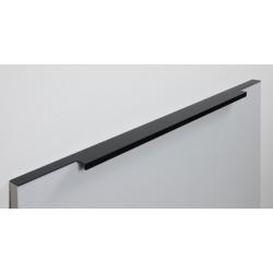 Ручка торцевая RAY,черный матовый   500 мм                                Boyard (RT109BL.1/000/500)