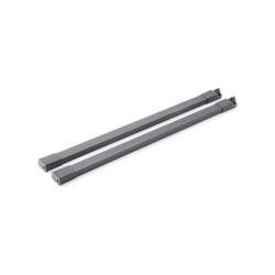 Рейлинг  450 мм прямоугольный графитовый        START                       BOYARD (SBR09/GRPH/450)