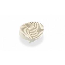 Ручка-кнопка  FB-023 золото прованс/топленое молоко                          Валмакс (FB-023) (50 шт
