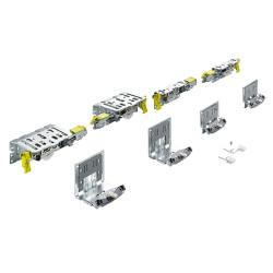 Комплект фурнитруы Top Line XL для 2 дверей, толщина двери 32-40 мм, 100 кг  (9275787)