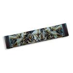 Ручка ЕМЕ 160/175мм глянц. хром+коричневый прозрачный