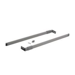 Рейлинг  450 мм серый прямоугольный              UNIHOPPER                                   (10317)