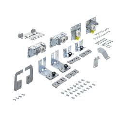 Комплект фурнитруы Top Line L для 2 дверей, передняя СПРАВА, толщина двери 10-16 мм, 50 кг (9242709)