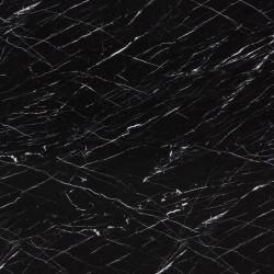 МДФ 2800*1220*18 МАТОВЫЙ черный мрамор (black venato) 2266