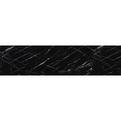 Кромка ПВХ 23/1 МАТОВЫЙ черный мрамор  (black venato)  (2266)