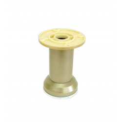 Ножка пластик, золото   Н=100мм                       (ДК  2-20.22)