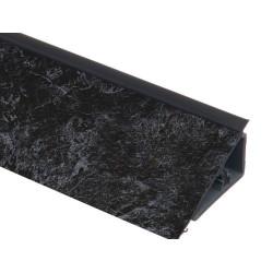 Плинтус столешницы PERFETTO LINE Черный мрамор  L=4,2м                          (16099891001)
