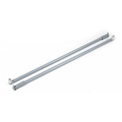 Продольный рейлинг 400мм серый                                              (МВ00081GR/400)