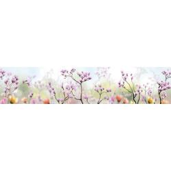МДФ глянец стен. влагоустойч. 2800х600х6   Сакура розовая  (SP 094)