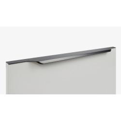 Ручка торцевая TERA, черный  600      Boyard (RT111BL.1/512/600)