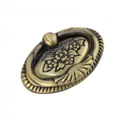 Ручка кнопка бронза    RC027AB.3