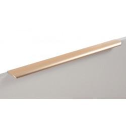 Ручка торцевая MONTE,матовое золото   600 мм                              Boyard (RT110SG.1/000/600)