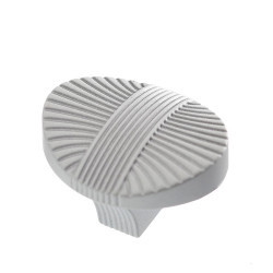 Ручка-кнопка  FB-023 серебро прованс/белый матовый                                Валмакс (FB-023)