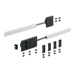 Стяжка-выпрямитель для дверей высотой до 2600 мм алюминиевый корпус  (2 шт)         Hettich (9252651