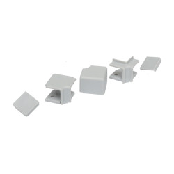 Комплект фасон.част , VOLPATO,светло - серый   (1вн/1нар/2заг)                        (51/09.577.GA)