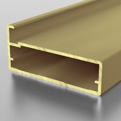 F1-37 Алюминиевый профиль рамочный золото, матовый 5,9м