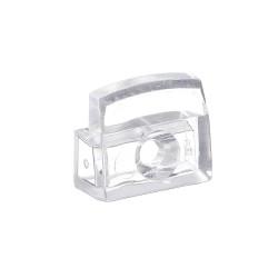 Зеркалодержатель пласт., прозрачный, прямоугольный