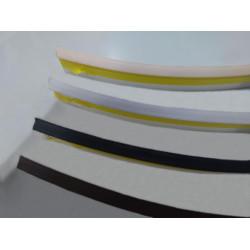 Плинтус - уплотнитель, серый (5м)  для стеновых панелей                    SIMPLE LINE (16107291003)