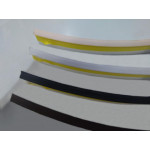 Плинтус - уплотнитель, черный (5м)  для стеновых панелей                   SIMPLE LINE (16107291003)