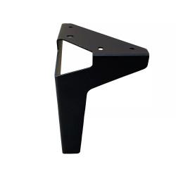 Ножка Н=70 мм, черный матовый, регулируемая                                               АХ (11342)