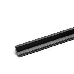 Плинтус малый (15мм), черный (4,2м)                                              REHAU (16063451004)