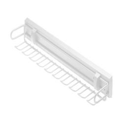 Вешалка для ремней и галстуков SMART (без направляющих), белая                    GTV (W-WKRP-BP-10)