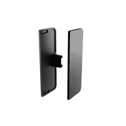 Комплект закрытых заглушек С-обр, цвет черный                                    REHAU (13396931044)
