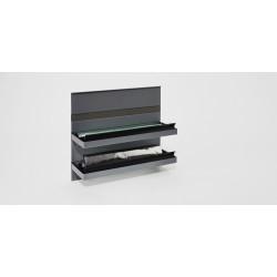 Держатель для фольги, 350x110x300 мм, цвет АНТРАЦИТ,     KES(0089099844)