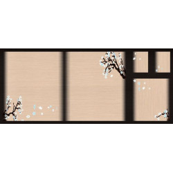 МДФ 2800х1220х16 глянец Узор восточный (SG 02)
