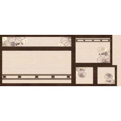 МДФ 2800х1220х16 глянец Хризантема (SG 04-2)
