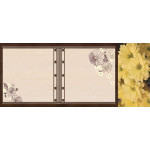 МДФ 2800х1220х16 глянец Хризантема+фото (SG 04-1)