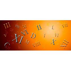 МДФ 2800х1220х16 глянец-римские цифры   ALBICO (DM 002)