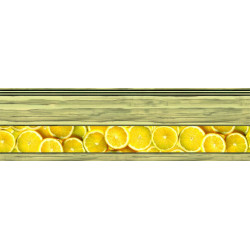 МДФ 2800х820х16 глянец Лимон-верх (01 KF 007 V)