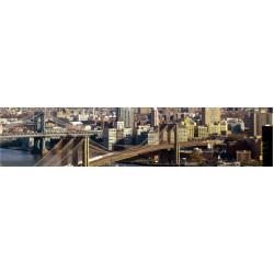 МДФ глянец стен.влагоустойч. 2800х600х6  Город  дневной (SP 002)