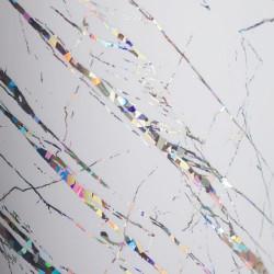 МДФ 2800*1220*18 белый  мрамор глянец ( BEYAZ MERMER) 395