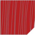 МДФ 2800*1220*18 красный  дождь глянец (KIRMIZI CIZGILI) 426