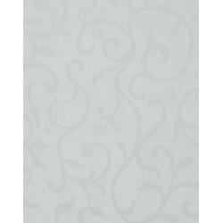 Угловой сегмент  ASD 900*900*26мм Цветы белые глянец  (1050/FLR)