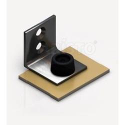 Заглушка алюм. для 1-й верхней направляющей золото АР-25