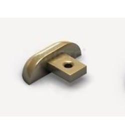 Заглушка алюм. для 1-й нижней направляющей золото АР-30