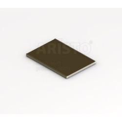 Разделитель-наклейка блестящая бронза