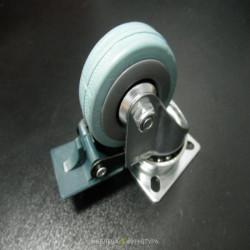 Ролик резиновый D=50 (площадка, тормоз)