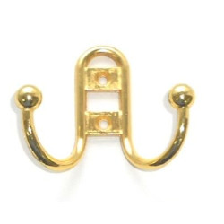 Крючок прутик малый, золото    KL- 51 PB    (Идеа 4767)