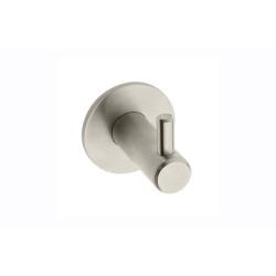 Крючок одинарный,  атласный никель                      (WS-ROND-14-06)